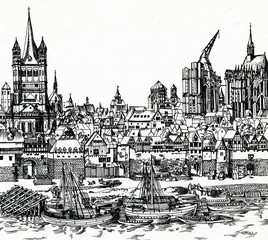Medieval Cologne (Germany)