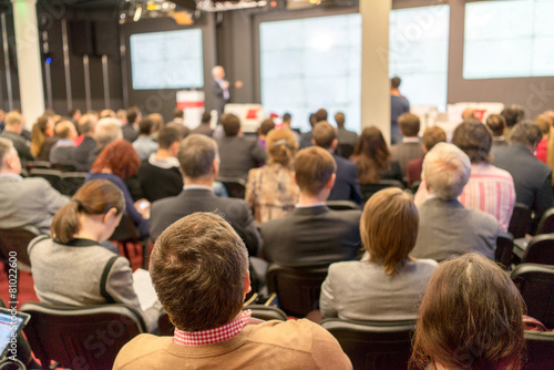 Photo  Audience at the conference hall