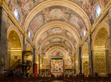 St John's Co-Cathedral In Valletta In Malta,