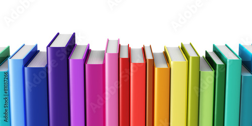 Fotomural Color hardcover books