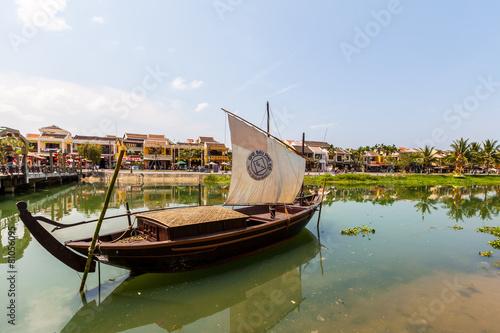 Fotografie, Obraz  Am Fluss in Hoi AN