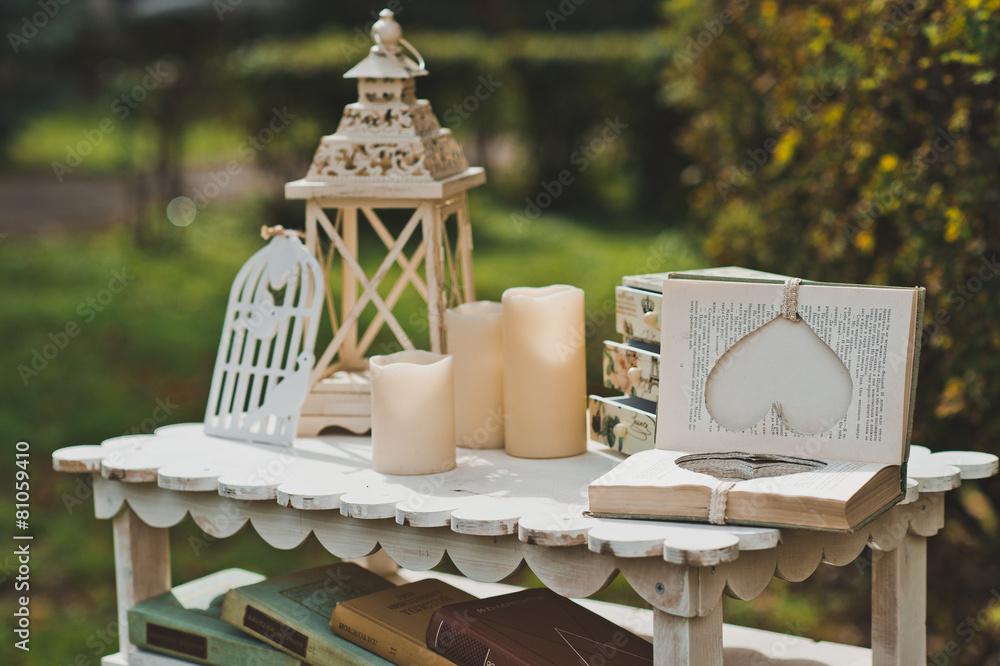 Foto-Lamellen (Lamellen ohne Schiene) - Decorative interior outdoors 2156.