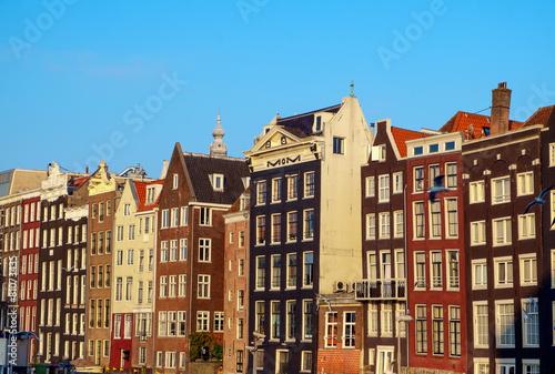 Poster Amsterdam Amsterdam buildings
