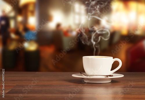 Napój kawowy w stołówce