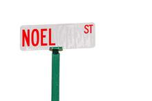Noel Street Sign