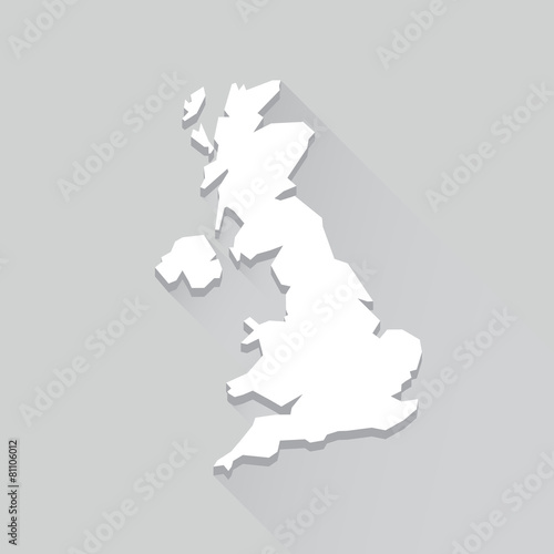 Fototapeta UK Maps