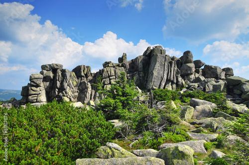 Fototapeta Karkonosze, giant mountains obraz