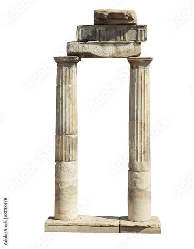 Poster Ruine Ancient Ruins Of Hierapolis