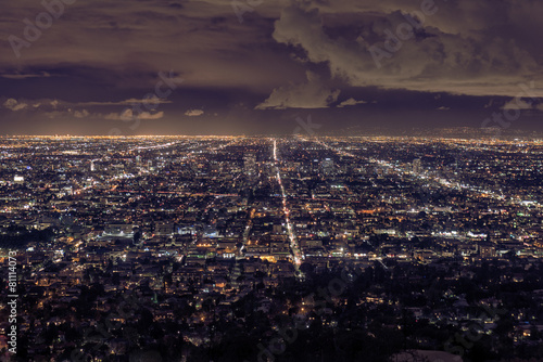 Foto op Canvas Los Angeles Los Angeles cityscape