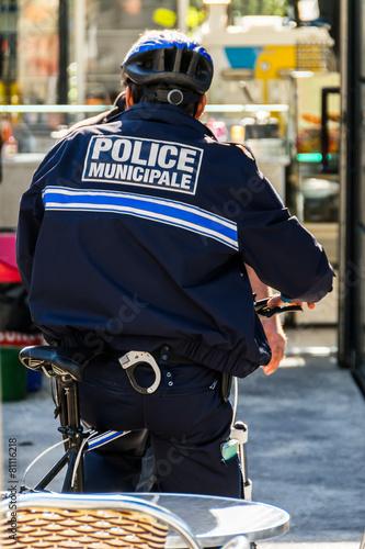 Police à vélo