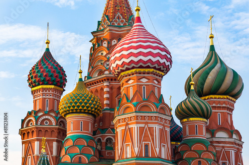 Foto op Plexiglas Bedehuis Saint Basil's Cathedral in Moscow, Russia