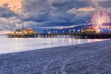 Santa Monica Beach, Los Angele...