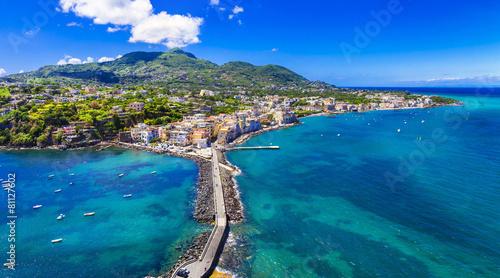 Cuadros en Lienzo Ischia island - italian holidays