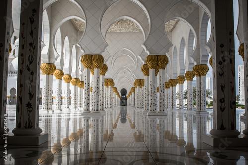 Fotografija  Sheikh Zayed Mosquée à Abu Dhabi