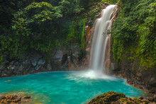 Beautiful Rio Celeste Waterfall