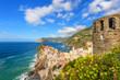 Breathtaking views of the Tyrrhenian Sea coast, the town of Vern