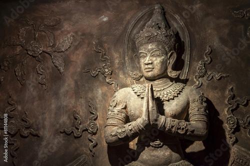 Foto op Plexiglas Xian Thai style wall sculpture