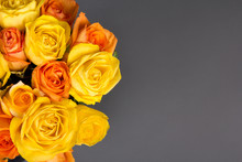 Bouquet Of Orange And Yellow R...