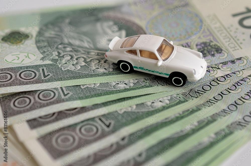 Fototapeta Auto na kredyt?