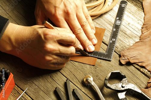 Fotografía  handmade leather