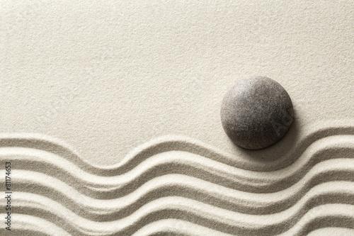 Foto op Canvas Zen zen stone