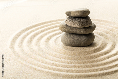 Plakát Zen kameny