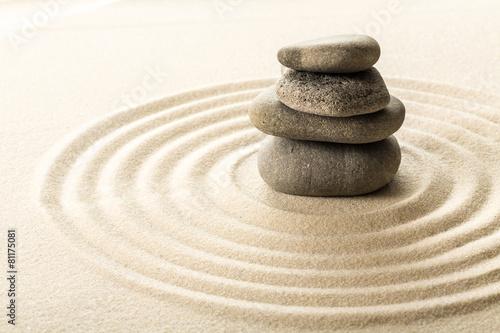 Keuken foto achterwand Zen zen stones