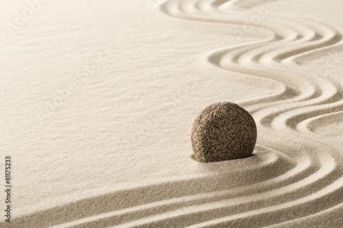 Keuken foto achterwand Stenen in het Zand zen stone