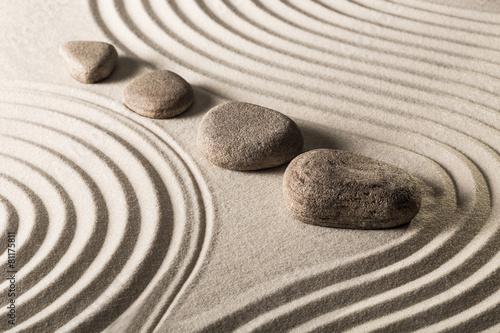 zen stones Wallpaper Mural