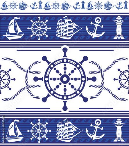 banery-z-symbolami-zeglarskimi