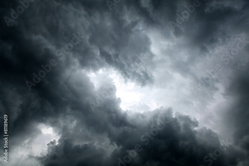 Fotografie, Obraz  Dramatic Clouds Background