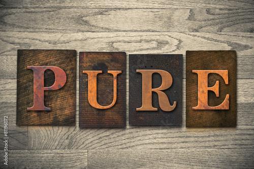 Fotografía  Pure Wooden Letterpress Theme