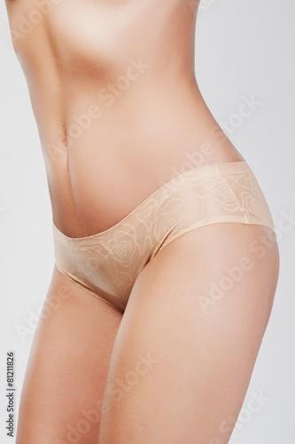 Obraz Seksowna kobieca pupa w bieliźnie - fototapety do salonu