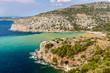 Landscape beautiful sea in Greece