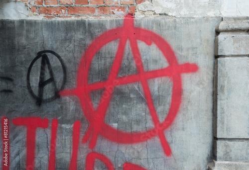 Valokuva  Anarchy Graffiti