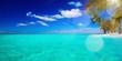 canvas print picture - art Untouched tropical beach