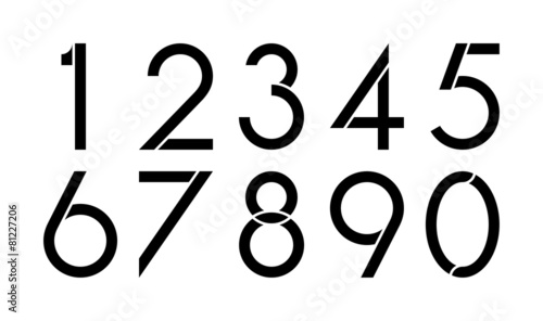 Fotografia Numbers