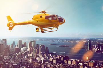 Fototapeta Helicopter Flight
