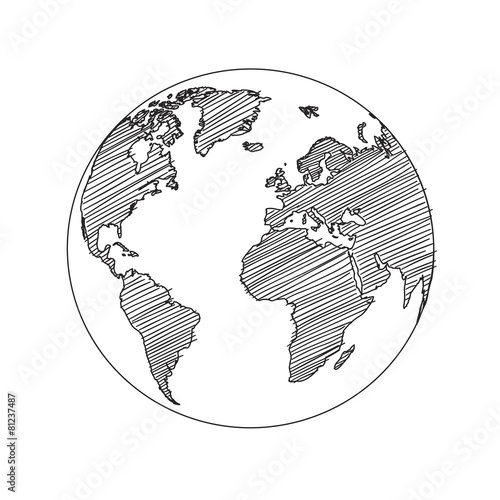 World map globe sketch vector buy this stock vector and explore world map globe sketch vector gumiabroncs Gallery