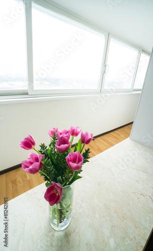 window zone in studio room Wallpaper Mural