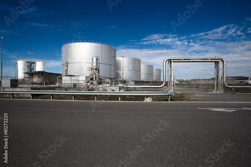 Photo  Oil Warehouse