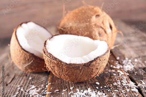 fototapeta na szkło orzech kokosowy