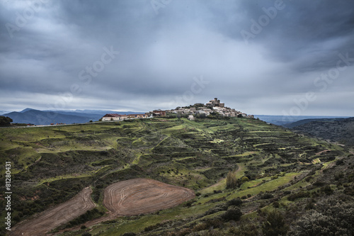 Photo  Spanish town