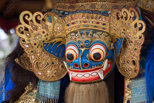 Foto op Plexiglas Indonesië Traditional stone sculpture in temple , Bali, Indonesia