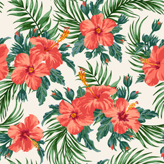 FototapetaSeamless exotic pattern.