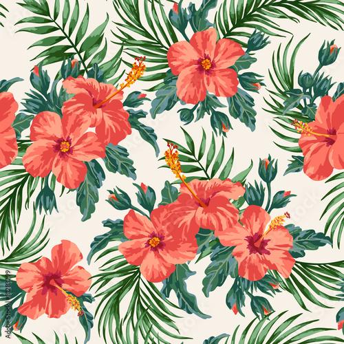 Seamless exotic pattern. - 81283299