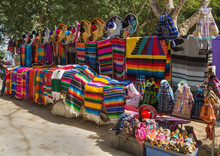 Bright Colors Of National Mexican Souvenirs