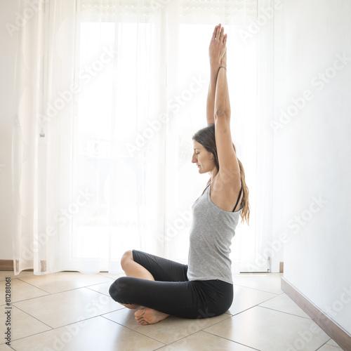 meditazione yoga Wallpaper Mural