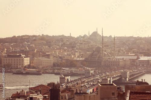 Fototapeta Pejzaż z Stambułu, Turcja