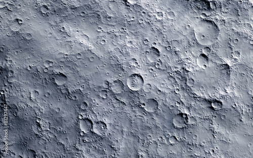 Photo Moon surface